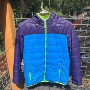 LL Bean Boys XL Youth Hooded Puffer